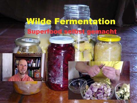 Wilde Fermentation = FERMENTIEREN + EINLEGEN von Gemüse leicht gemacht = GESUND + LECKER ❤ Anleitung