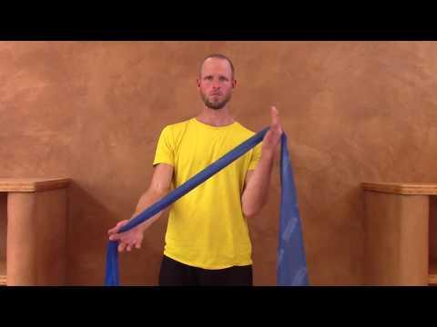 Rückenschmerzen selbst behandeln: Übung Dekontrahierung der Fingerbeuger, Schwerpunkt Daumenballen