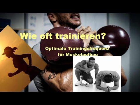 Wie oft trainieren? ☞ Die optimale Trainingsfrequenz für maximalen Muskelaufbau für Natural-Athleten
