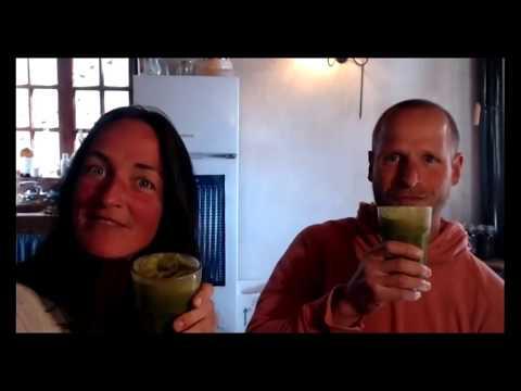 Rezept-Idee aus der Inspiriert-Sein Küche: Grüner Smoothie