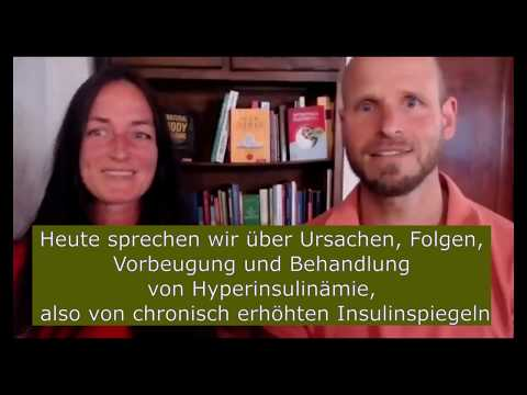 Insulin-Webinar: Insulinresistenz und Hyperinsulinämie - Folgen, Ursachen, Behandlung und Vorbeugung