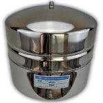Tank einer Umkehr-Osmose-Anlage aus Edelstahl