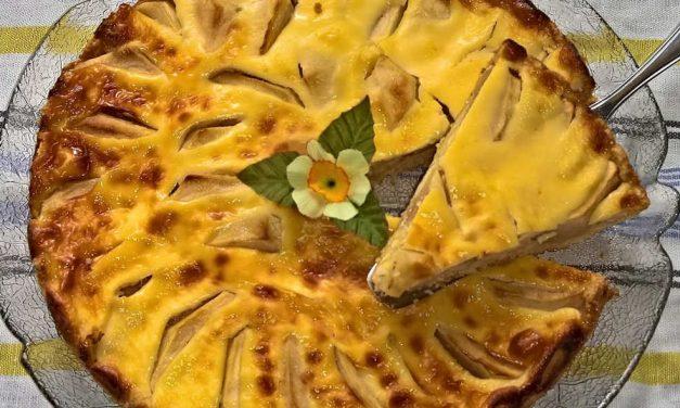 Apfel-Crème-Torte: Roh, vegan und ohne Gluten