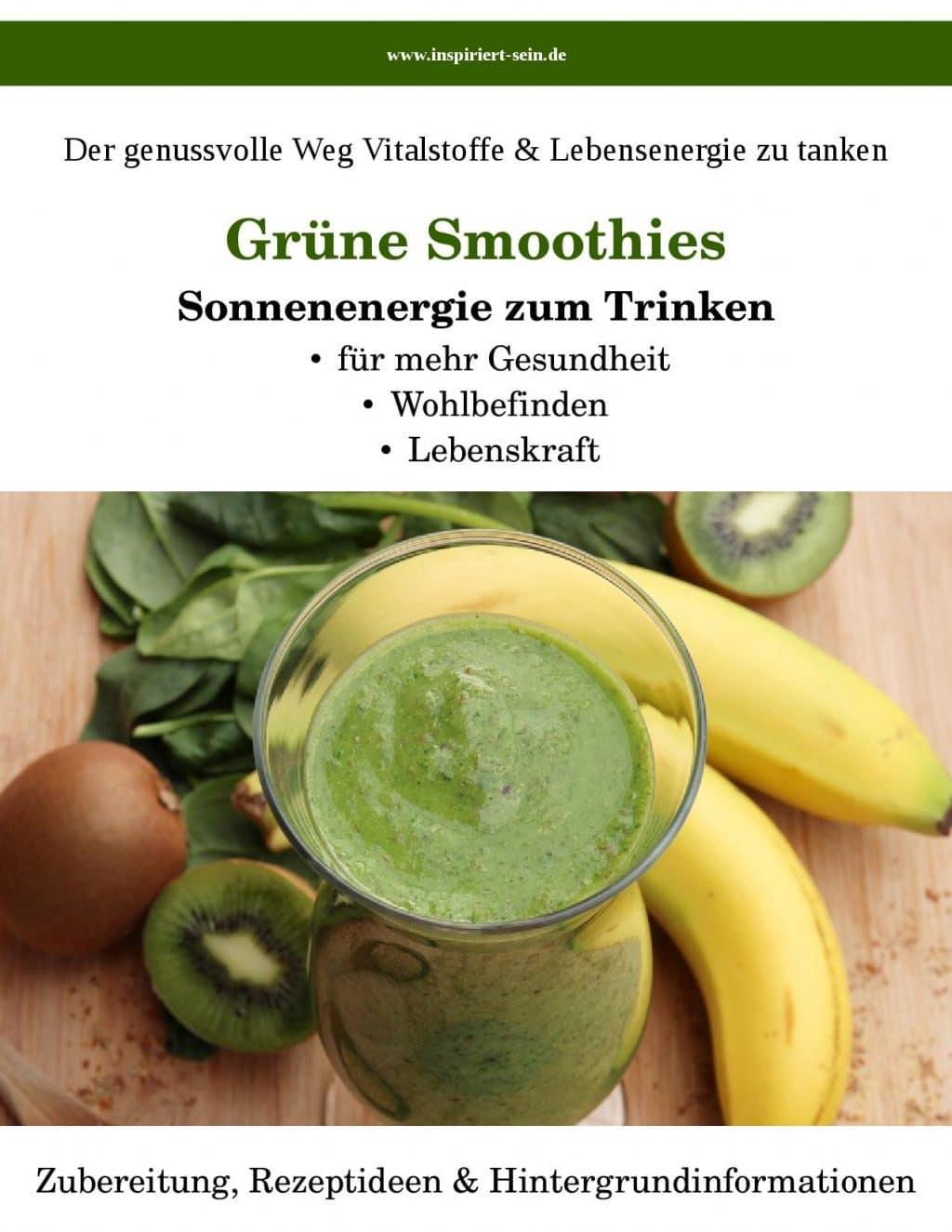 Cover Grüne Smoothies von Marion Selzer und Jens Sprengel