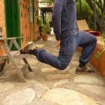 Rückenschmerzen selbst behandeln: Die Hüftbeuger trainieren in Verlängerung