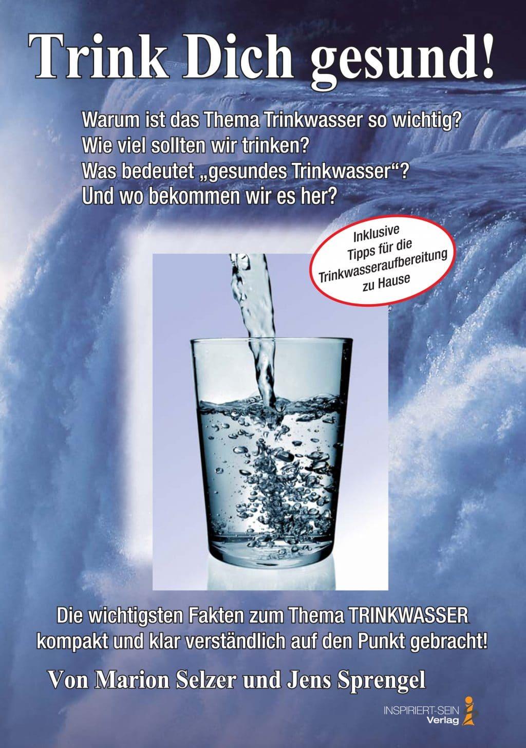 Cover Trink Dich gesund von Marion Selzer und Jens Sprengel