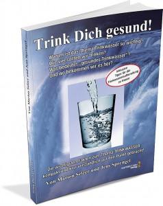 Cover Buch Trink Dich gesund von Marion Selzer und Jens Sprengel