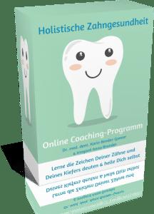 Produktbild vom Zahngesundheits-Online-Coaching-Programm der Zahnärztin Karin Bender-Gonser