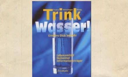 Buchbesprechung: Trink Wasser!