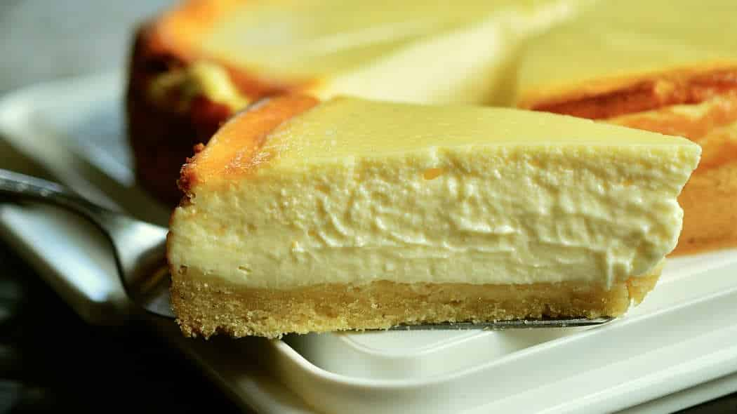 Käsekuchen vegan, glutenfrei und so lecker