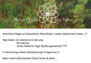 naturquelle la Palma Flyer