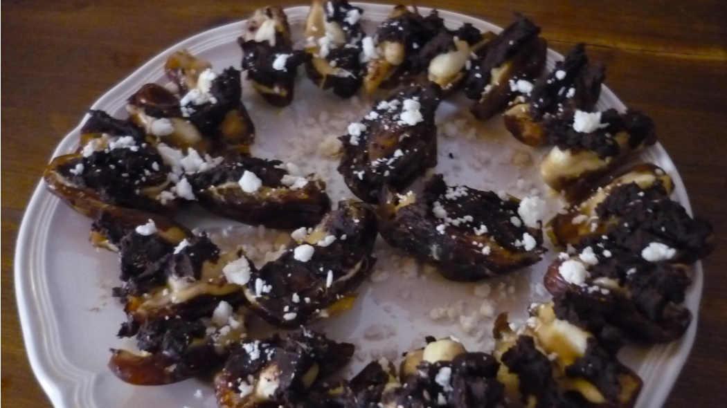 Rohkost-Dattel-Snickers eine Rezept-Idee aus der Inspiriert-Sein-Küche